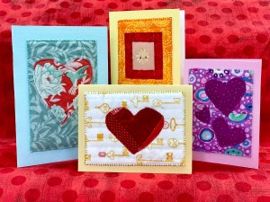 Quilted Valentine's Day Card Workshop @ Cate's Sew Modern