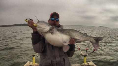 Winter Trophy Blue Catfish