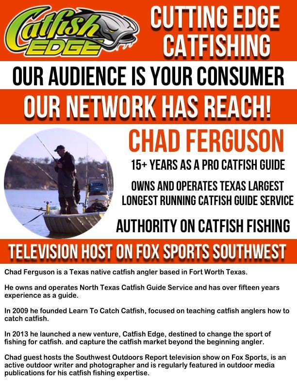 Chad Ferguson Catfish Edge Media Kit