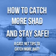 How To Catch More Shad (Plus Stay Safe): 8 Cast Net Tips