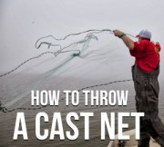 How To Throw a Cast Net The Easy Way