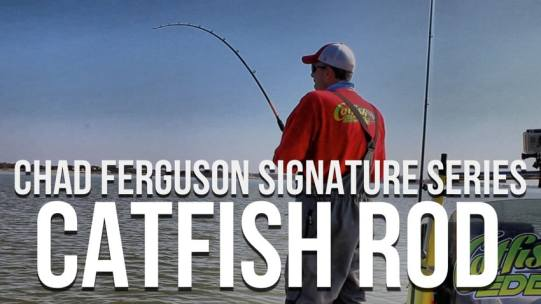 Chad Ferguson Signature Series Catfish Rod From Whisker Seeker Tackle