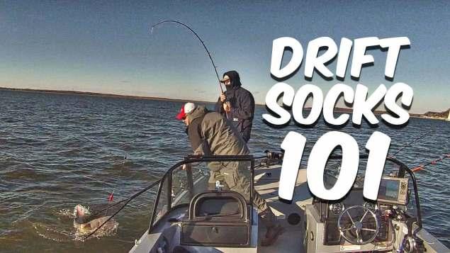 Drift Sock 101: Boat Control For Drift Fishing Catfish