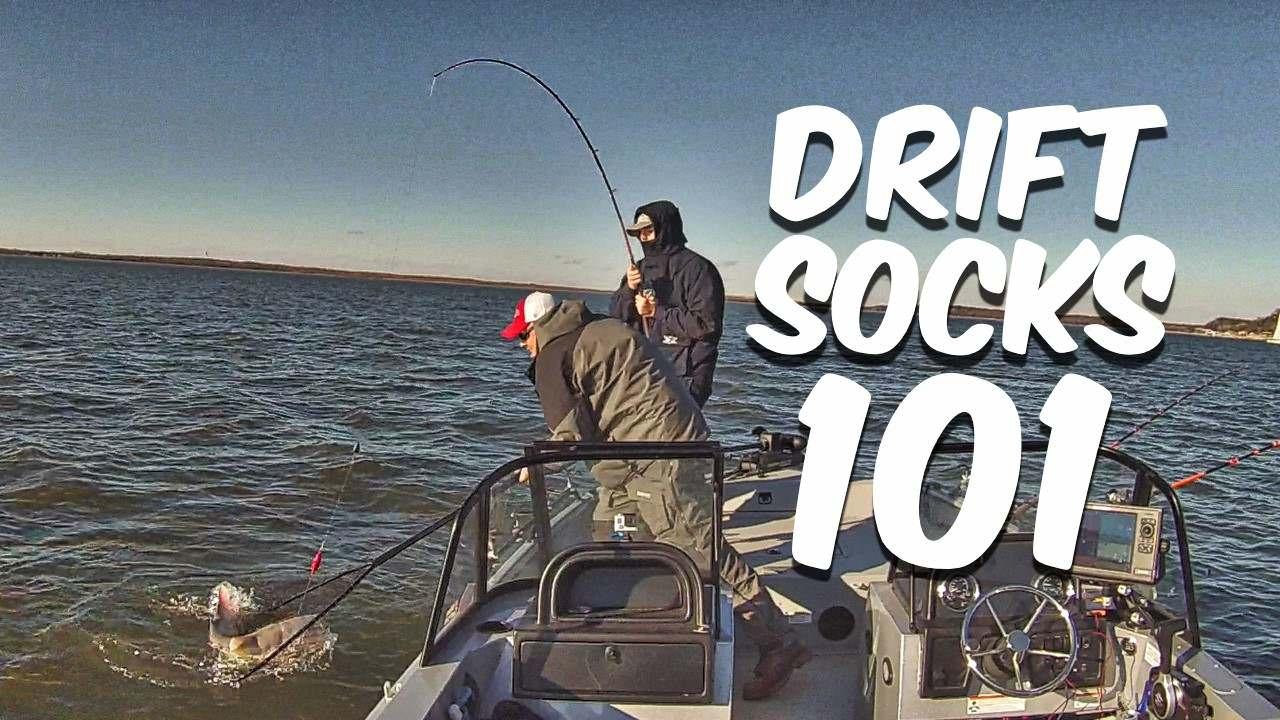 Drift Sock 101 Gear Up Boat Control For Drift Fishing Catfish