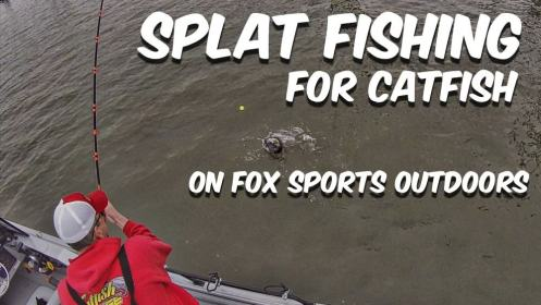 Splat Fishing Catfish Fox Sports Outdoors