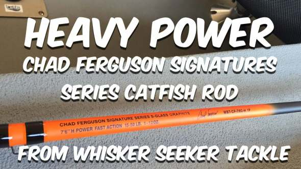 Chad Ferguson Catfish Rod Heavy