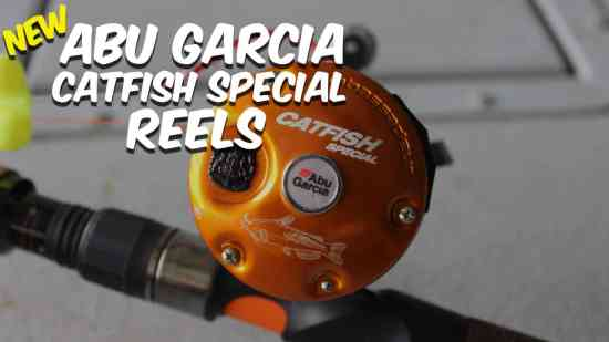 Abu Garcia Catfish Special Reels Cover