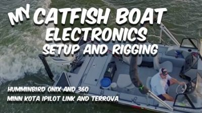 Catfish Boat Electronics Rigging