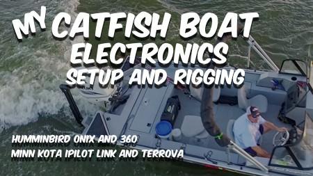 Catfish Boat Electronics Rigging