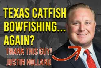 Texas Catfish Bowfishing Justin Holland