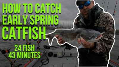 How To Catch Early Spring Catfish