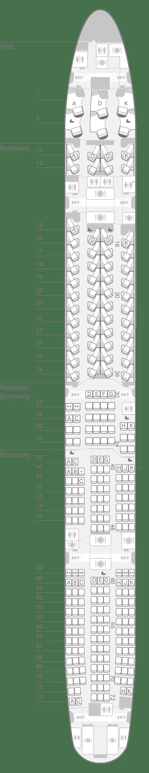 777 300 77h Seating Plan