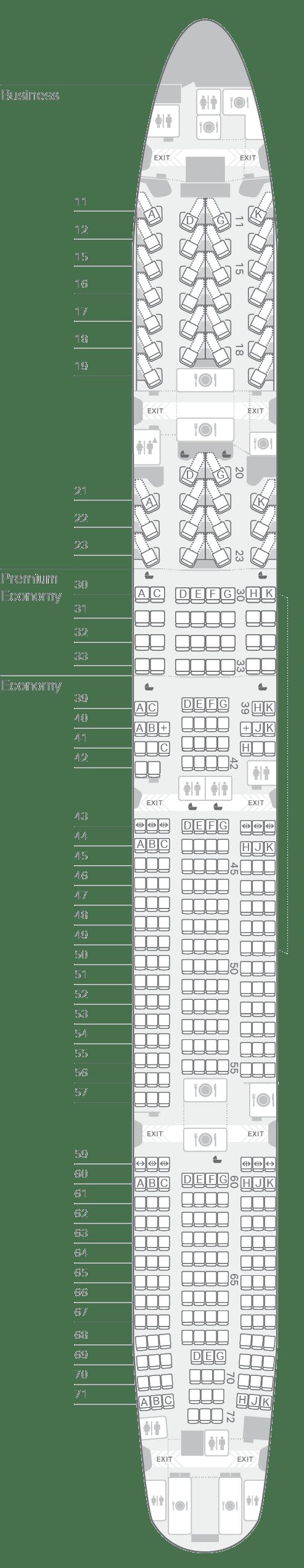 777 300 73k Seating Plan