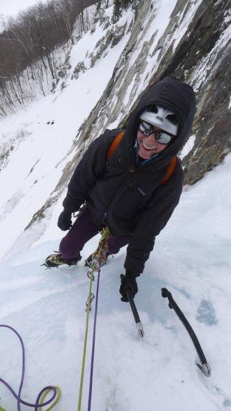 New Hampshire climbing guide Alexa Siegel