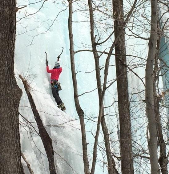 Ladies Only Steep Ice Climbing workshop