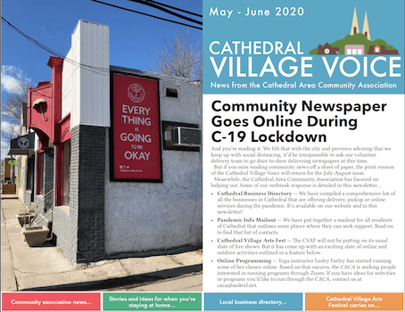 Cathedral Village Voice Online