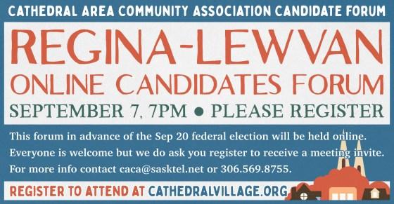 Regina Lewvan Forum Sep 7