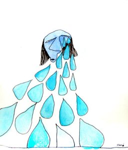 lagrimas azules