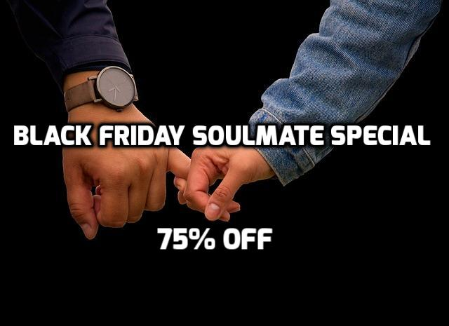 The Soulmate Mastermind – Ready? Take the quiz…. There's a Black Friday Surprise!