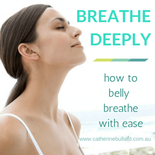 how to breathe deeply properly