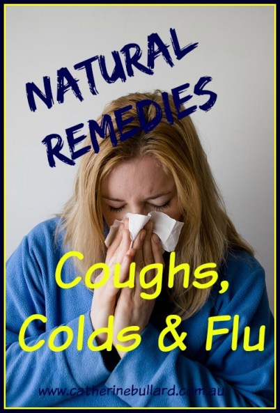 natural remedies coughs colds flu