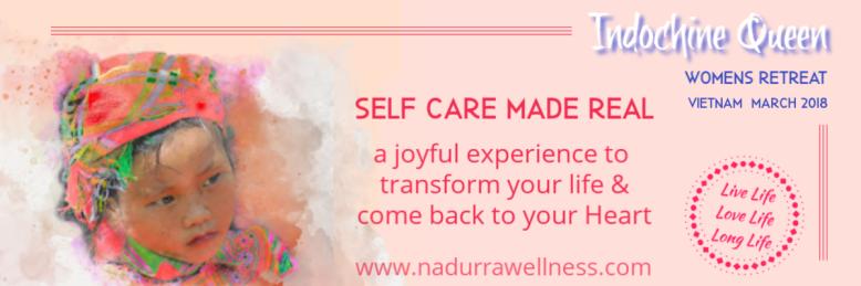 conscious self care womens retreat