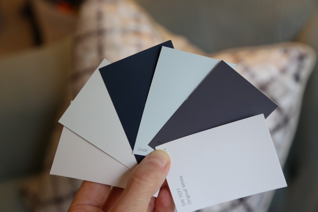 Selecting the best combinations of wall colors - Cat French Design Chapel Hill NC
