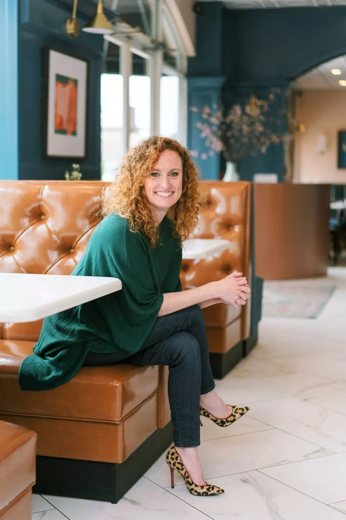 Catherine French in the all new Market and Moss Restaurant - Cat French Design