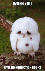 no nonfiction owl