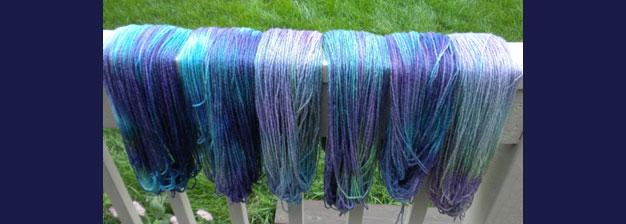 Yarn Dyeing Giveaway
