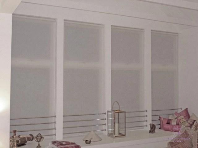 handmade blinds semi sheer voile roller blind Perth