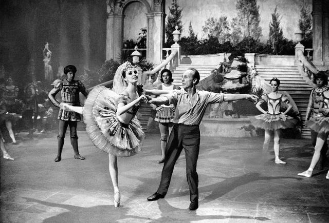 George Balanchine Patrica McBride rehearse