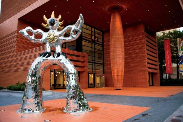 """The Firebird"" stands in front of the Bechtler Museum of Modern Art in Charlotte, NC. The museum is dedicated to the celebration and analysis of the strongest aspects of mid- century modernism. JCI Photo - Todd Bennett"