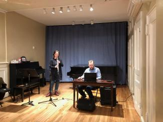 Exploring the Metropolis. Workshop for oboe d'amore and electronics with Taylor Brook. Bloomingdale School of Music. March 2019.