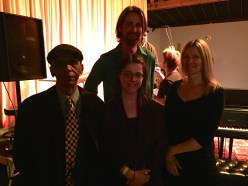 After performance of Nonaah with Roscoe Mitchell (Disjecta, Portland, 2015)