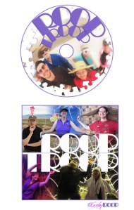 Photoshop class project - CD cover & label.
