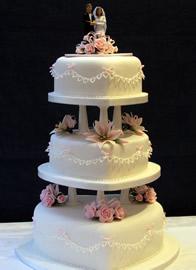 Classic Wedding Cakes Catherines Cakes Reading