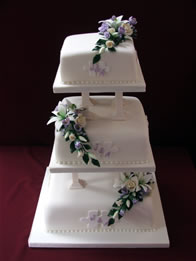 Classic Wedding Cakes   Catherines Cakes   Reading Berkshire         Wedding Cakes   Classic
