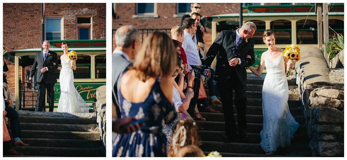 Wedding Photographer in Milwaukee WI_outdoor wedding_unique wine bottles