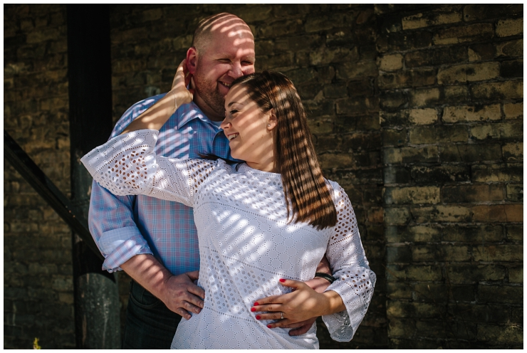 Married in Milwaukee_Walker's Point Engagement