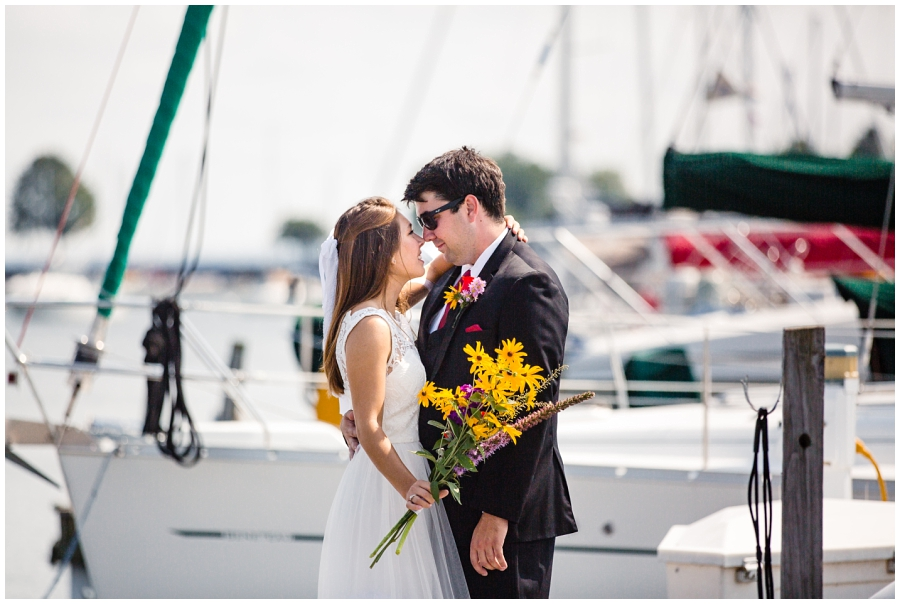 Lake Michigan Milwaukee Wedding Photographer