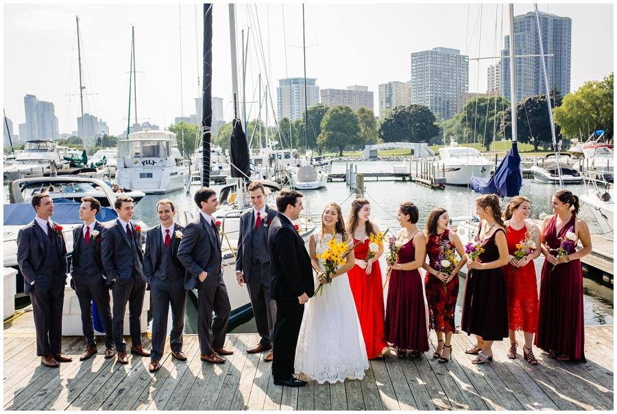 Lake Michigan Milwaukee Wedding Photographer
