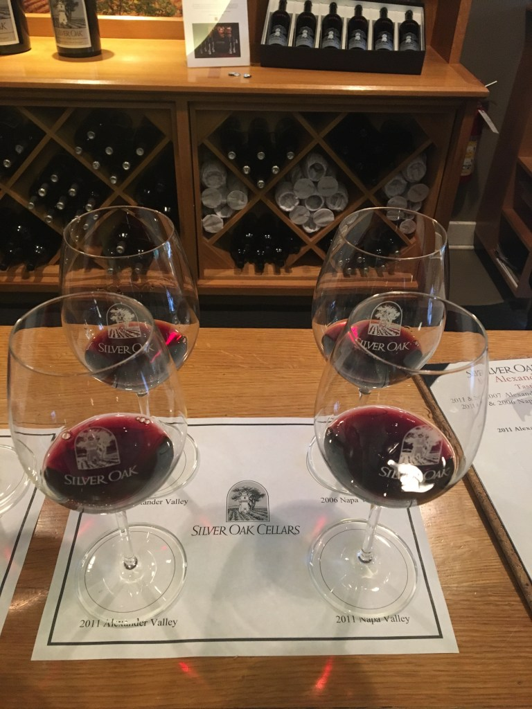 Silver Oak Winery Tasting