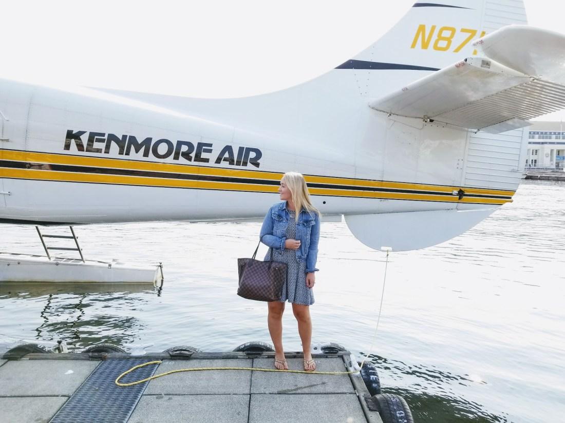 Sea Plane to Victoria #KenmoreAir #SeaPlane