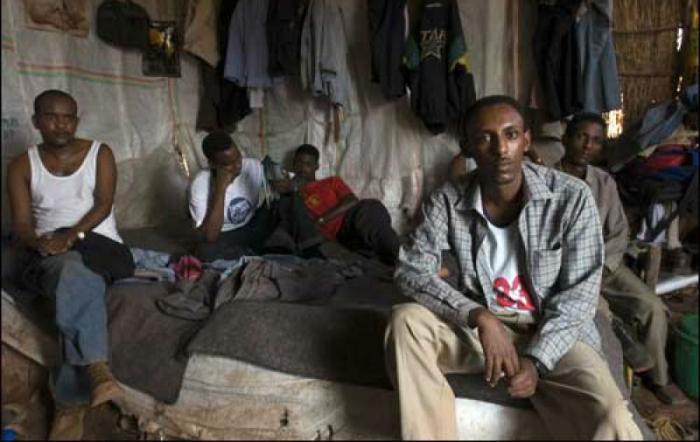 Christians are imprisoned in Eritrea.