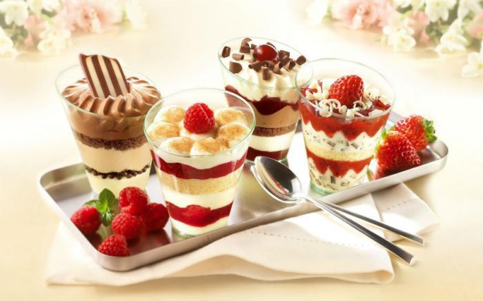 Skip the dessert.