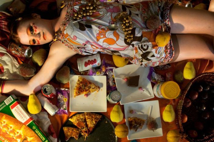 Gluttony controls lives.