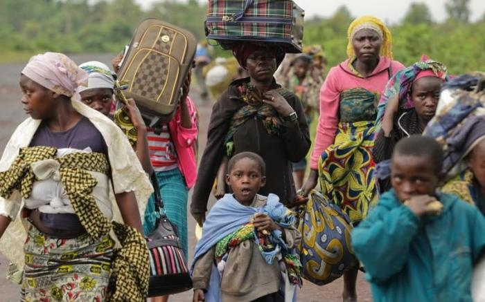 Christians in the Congo are being hacked to death.