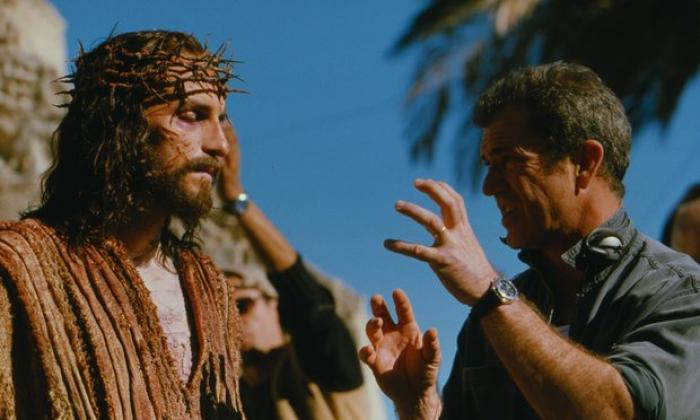 Mel Gibson and Jim Caviezel
