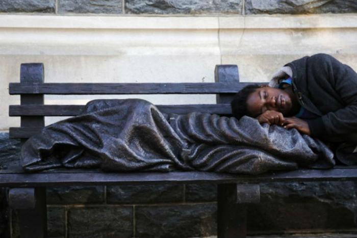 Help the homeless.